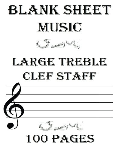blank treble clef sheet music