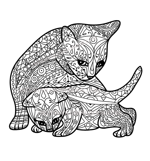 Cats Coloring Pages Order Coloring Books And Notebooks