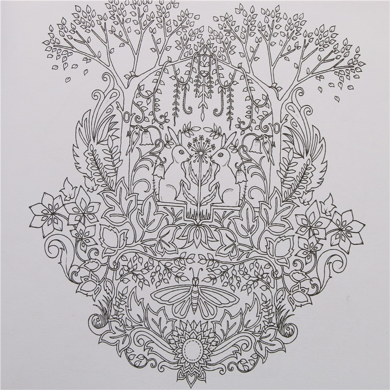 Enchanted Forest Coloring Book - Order Coloring Books And Notebooks